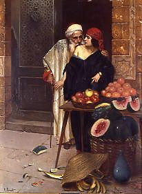 "Photo of ""THE FRUIT SELLER"" by RUDOLF ERNST"
