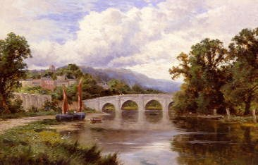 "Photo of ""RICHMOND BRIDGE, ENGLAND"" by HENRY H. PARKER"
