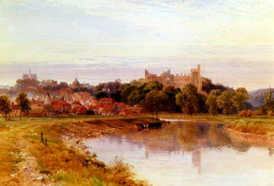 "Photo of ""A VIEW OF ARUNDEL CASTLE, ENGLAND"" by HAROLD SUTTON PALMER"