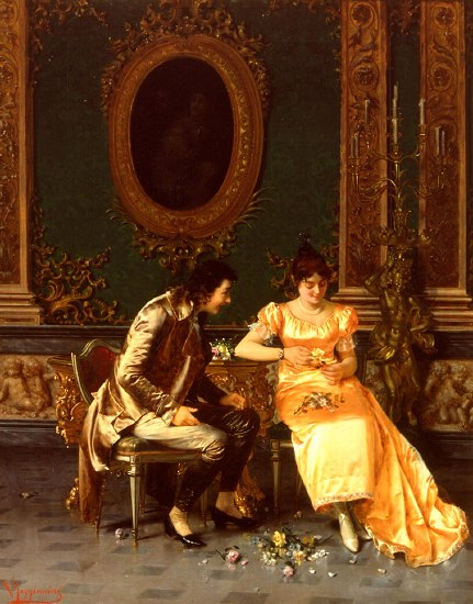 "Photo of ""HE LOVES ME, HE LOVES ME NOT"" by VITTORIO REGGIANINI"