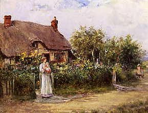 "Photo of ""A MOTHER'S WELCOME"" by HENRY JOHN YEEND KING"
