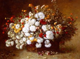 "Photo of ""STILL LIFE WITH FLOWERS"" by AIME PERRET"