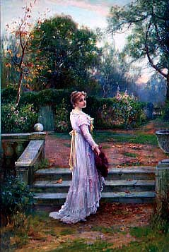 "Photo of ""IN THE GARDEN"" by ERNEST WALBOURN"