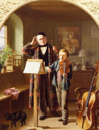 "Photo of ""THE MUSIC LESSON"" by JUST JEAN CHRISTIAN HALM"