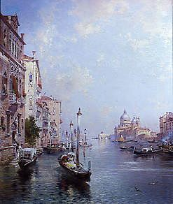 "Photo of ""THE GRAND CANAL, VENICE"" by FRANZ RICHARD UNTERBERGER"