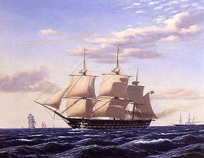 "Photo of ""ATLANTIC BOUND"" by HEINRICH ANDREAS SOPHUS PETERSEN"