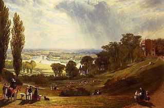 "Photo of ""THE THAMES FROM RICHMOND HILL, ENGLAND, 1862"" by ALEXANDER F. ROLFE"
