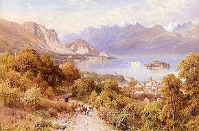 "Photo of ""A VIEW OF THE ISOLA BELLA (ITALY)"" by HARRY SUTTON PALMER"