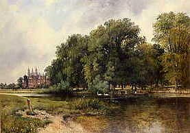 "Photo of ""ETON COLLEGE FROM THE RIVER"" by FREDERICK WILLIAM WATTS"