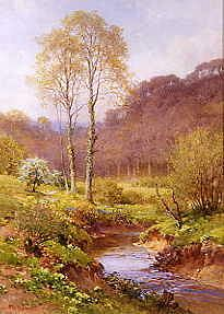 "Photo of ""SPRINGTIME NEAR HASLMERE"" by HAROLD SUTTON PALMER"