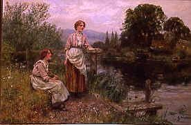 "Photo of ""WAITING FOR THE FERRY"" by HENRY JOHN YEEND KING"