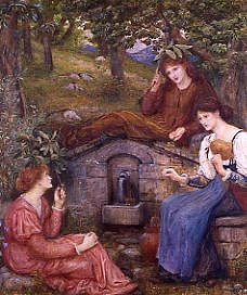 "Photo of ""AT A SPRING"" by MARIA SPARTALI STILLMAN"