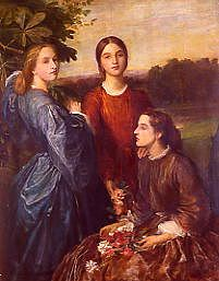 "Photo of ""LADY LOTHIAN AND HER SISTERS"" by GEORGE FREDERICK WATTS"