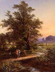 "Photo of ""A RIVERSIDE PATH,1881"" by WALTER WILLIAMS"
