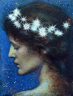 "Photo of ""DAY AND NIGHT"" by EDWARD ROBERT HUGHES"