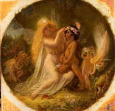 "Photo of ""TITANIA AND THE INDIAN BOY"" by SIR JOSEPH NOEL PATON"